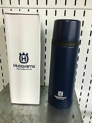 HUSQVARNA Thermos Flask Stainless Steel Vacuum Insulated 0.75l