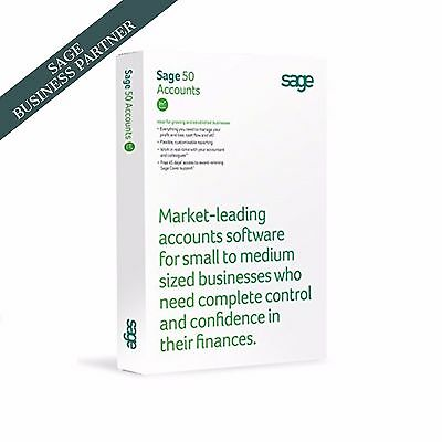 Sage 50 Accounts V23 2017 (Latest Version - Perpetual Licence)