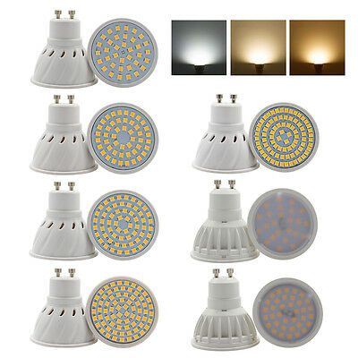 GU10 LED Spot lights 3W 4W 5W 6W 7W 10W 15W 2835SMD Light Bulbs Lamps