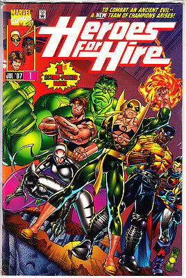 Heroes For Hire  NºS   1 .2.3.4      Marvel U.s.a  ( 4  Numeros )  Pascual Ferry