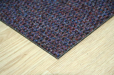 Quality Luxor 50cm x 50cm Commercial / Domestic Retail Carpet Tiles Flooring