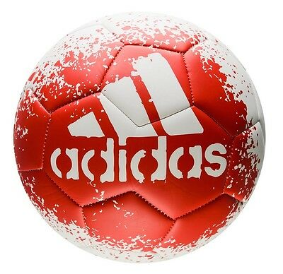 Football/ Soccer Ball Adidas X Glider Size 5 White/ Red Genuine Adidas Ball