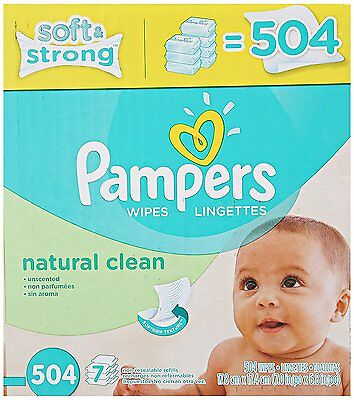 Baby Wipes Water Sensitive Clean Soft case natural fresh Free count pack New,./