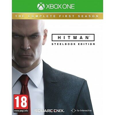 Hitman The Complete First Season Steelbook Xbox One Game Brand New