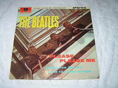 The Beatles - Please Please Me - original yellow and black - Excellent - Listen