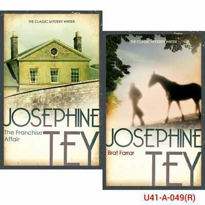 Josephine Tey Miss Pym Disposes Collection 8 Books Set NEW