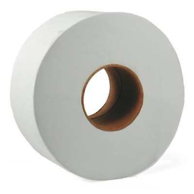 2Ply Jumbo Large Roll Toilet Tissue (Roll of 12) For Bathroom Office 202 9 inch