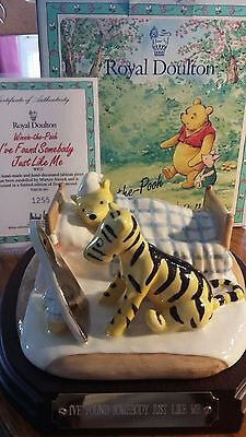 Royal Doulton Winnie the Pooh WP22. Tableau. I've Found Somebody Just like Me..