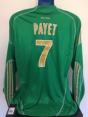 Saint Etienne PAYET 09/10 Home BNWT Football Shirt (XL) Player Issue