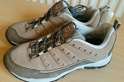 BN ladies womens Berghaus brown leather walking hiking trainers shoes size 6 £60