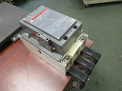 ABB Contactor AF400-30 100-250VDC Coil 550A 600V Used