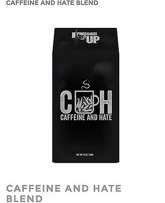New Sold Out Black Rifle Coffee Caffeine And Hate Whole Bean. Fast Free Shipping