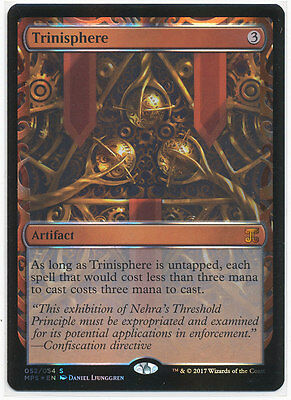 MTG Masterpiece Series - Aether Revolt Inventions - Trinisphere NM