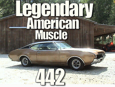 1969 Oldsmobile 442 Fastback Coupe 1969 Oldsmobile 442 Matching Numbers Fastback Coupe.