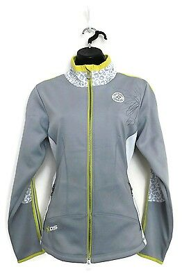 DAILY SPORTS Women's Golf Celia Wind/Water Resistant Jacket (Silver) - Small