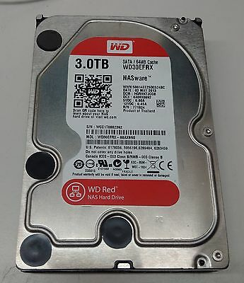 "WESTERN Digital WD Disque Dur NAS 3,5"" 3To 64 Mo Serial ATA 6Gb/s - WD30EFRX"