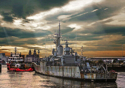 Hms Plymouth -  Limited Edition Art (25)