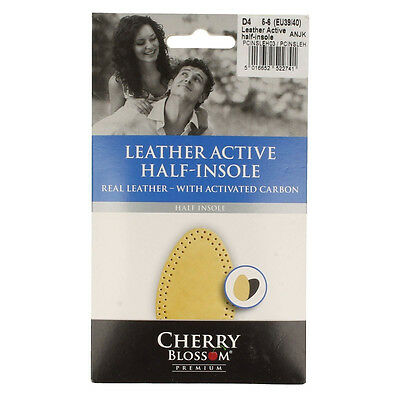 Cherry Blossom Leather Active Half Insole