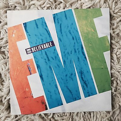 "EMF Unbelievable 12"" Vinyl Single 1990 Parlophone"