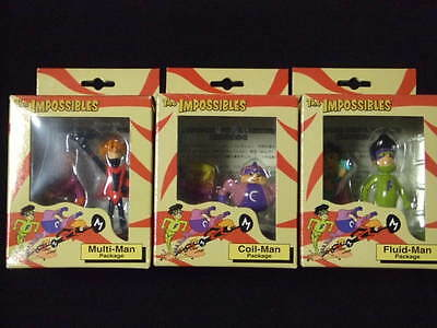 The Impossibles PVC Figure Collection statue Hanna Barbera
