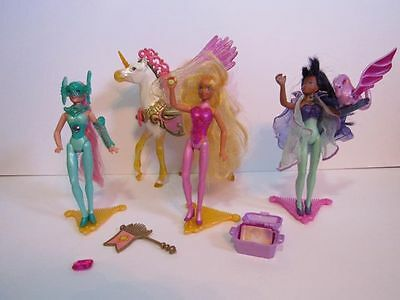 Princess Gwenevere and the Jewel Riders 3 Dolls and Sunstar Horse