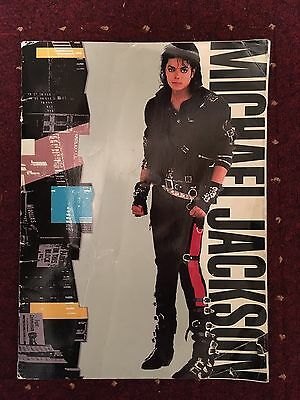 Michael Jackson Original Bad Tour Programme  1988 Uk