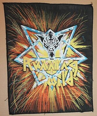 Running Wild , Victims of State Power Backpatch Vintage, ultra rar, rare
