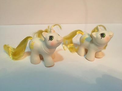 My Little Pony G1 Vintage Newborn Twins Rattle and Tattles