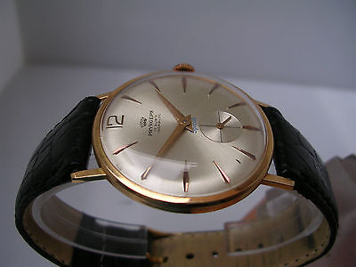 Pryngeps Special Oro 18 Kt Manuale Vintage Anni ' 60 Orologio Uomo