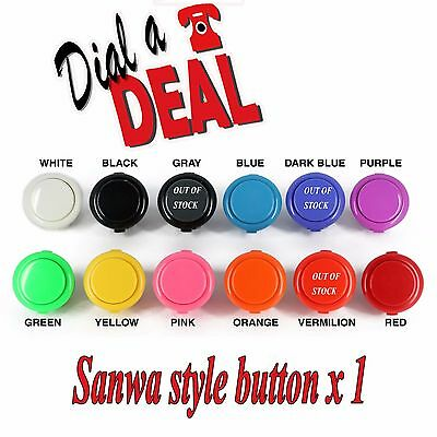 Sanwa Style Arcade Buttons Choose Your Colour