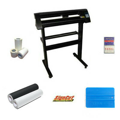 EH721 Vinyl Cutter / Cutting Plotter Package Deal With Signcut for Sign Making