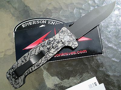 Emerson CQC-12 Vines And Roses Knife RARE 1 of 20 Vintage