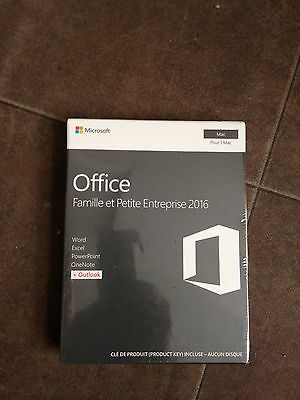 Microsoft Office 2016 Home and business - For Mac Only -Word, Excel, Outlook,