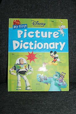 My First Picture Dictionary (Disney Learning), Hardcover Book Good Condition