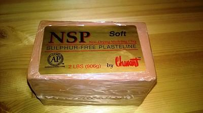 NSP, non Drying Modeling Clay, Soft