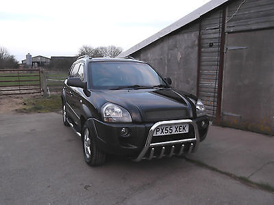 Hyundai Tuscon 2.0 Crtd 16V Gsi Black 2005 Chrome New Mot 4X4