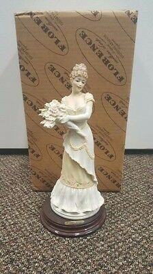 Giuseppe Armani figurine YOUNG LADY WITH FLOWERS (Art. 529 - P)