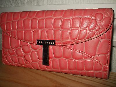 TED BAKER Large Leather Purse