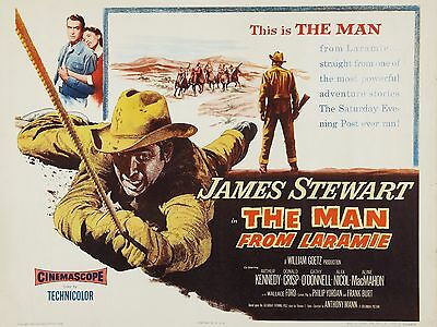 """The Man from Laramie 16"""" x 12"""" Reproduction Movie Poster Photograph"""