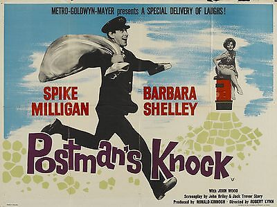 """Postmans Knock 16"""" x 12"""" Reproduction Movie Poster Photograph"""