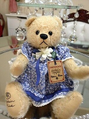 ��Robin  Rive �� Nathalie Hand Made Teddy Only One Made 1of 1