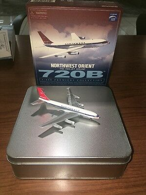 Dragon Wings 1/400 Northwest Airlines Boeing B720 Diecast Model Tin Box