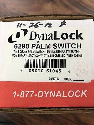 DynaLock 6290 Palm Switch