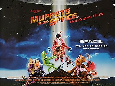 """Muppets from Space 16"""" x 12"""" Reproduction Movie Poster Photograph"""