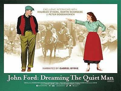 "The Quiet Man John Wayne 16"" x 12"" Reproduction Movie Poster Photograph"