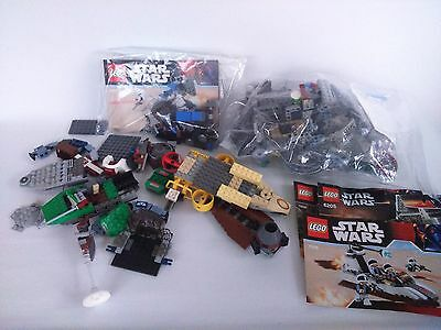 Lego Bundle of Incomplete Star Wars Sets and Manuals