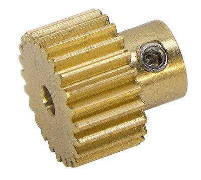 24 Tooth, 48 Pitch, 3mm Bore Gearmotor Pinion Gear (#615322)