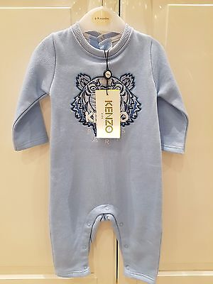 *~ Brand New with Tag Kenzo Kid Onesie Baby Grow Blue 9 months ~*