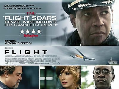 "Flight 16"" x 12"" Reproduction Movie Poster Photograph"