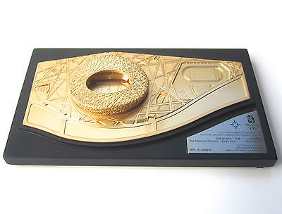 Beijing Olympics Bird's Nest Metal Model Official Product No.00416 RARE 2008